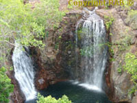 Florence Falls in Litchfield National Park Top End Northern Territory Australia